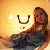 The Duggars visited a Capsule Hotel in Japan. Here, Johannah tries out