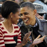 How in love is our President with his First Lady? Barack and Michelle