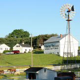 A scene from Amish country