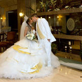 This gypsy bride waited 14 years for her dream wedding.