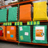 Second Harvest's donation warehouse.