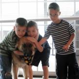 Collin, Joel and Aaden couldn't be happier to share their 7th birthday