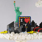 Detail from Nadine's American Dream Cake