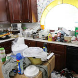 Kay's Home: Kitchen, Before