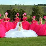 Bridget's wedding in Trowbridge, Wiltshire.