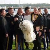 KT's groomsmen show her a little love