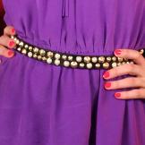 Black Studded Belt from