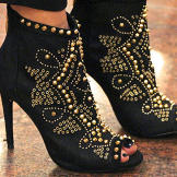 Studded boots by