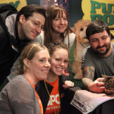 Lil BUB meets her adoring fans from the ASPCA.