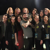 Lil BUB, Mike Bridavsky, and the Animal Planet team.