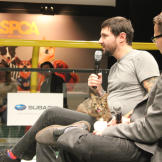 Lil Bub and her dude, Mike Bridavsky, answer questions.