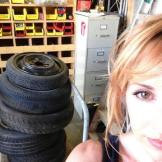 Feeling tired. From Kari Byron's Twitter feed. Follow