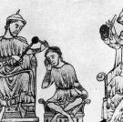 This is a 16th century illustration of trepanning -- the process of dr