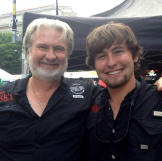 BBQ Pitmasters judge Myron Mixon spends time with his son Michael duri