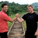 Scott and George are ready to take on the challenge to find gold.