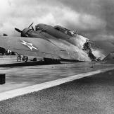This B-17 was flying into Hickam Field, Oahu, Hawaii as the surprise a
