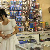 5. Buy Your Wedding Dress from a Pawn Shop