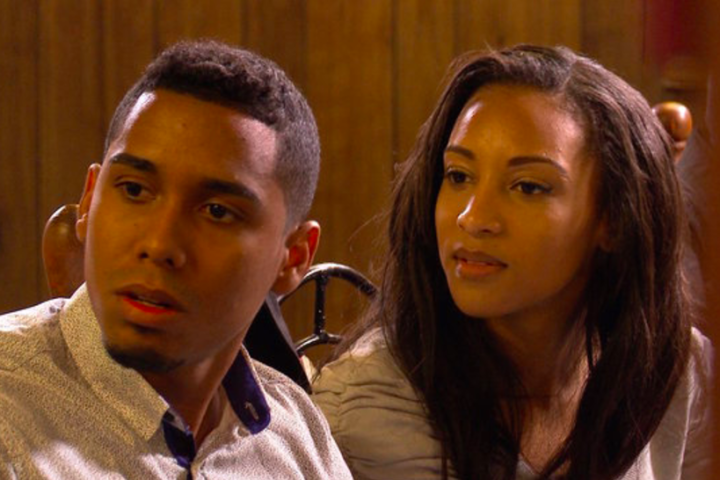 Chantel and Pedro struggle to conceal their engagement from Chantel's family.