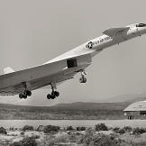 That's right, this is the XB70 Valkyrie, so kudos go to Edward R. who was the first to weigh in within our comment section.