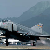 F-4 Phantom Taking Off