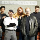 The MythBusters in a 2007 promotional shoot.
