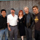The MythBusters during the filming of the series' sixth season.