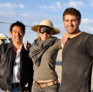 Grant, Kari and Tory traveled to Black Rock Desert in 2012 for the filming of