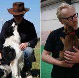 Clearly Adam has a way with animals, but in particular, he LOVES dogs.