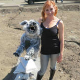 """Says Kari of the wolf she built: """"I actually liked that wolf. I k"""
