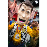 At Comic Con 2014, there were both spot-on perfect replicas ...