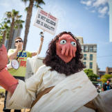 First, there's my friend Frank Ippolito's Zoidberg Jesus. Some of you