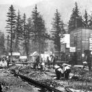 Within weeks after news of the Klondike gold discovery reached Seattle