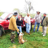 Farmer Cole Henson discusses her nuisance call with Ernie Brown, Jr.,