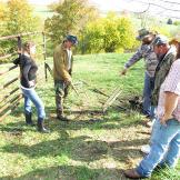 Team Turtle investigates farmer Cole Henson's property.