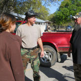 Turtleman (Ernie Brown, Jr.) and Neal James meet up with Taylor Pierce