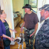 Turtleman and Neal talk to bed and breakfast owner Angie Martin about