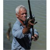 To catch a big fish, one often needs a big rod and reel. Jeremy Wade p