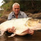 The goliath tigerfish lives in one of the most remote regions of the w