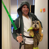 Doug the Yoda Dog teaches us (and young Jedi, Phil) about the Force fo
