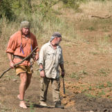 The search for water and prey always leads to watering holes, but sinc