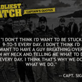 Captain Sig Quotes