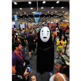 Adam Savage went incognito on the Comic Con floor as the character No-