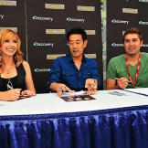 This is the third year for Grant Imahara and Tory Belleci at Comic Con