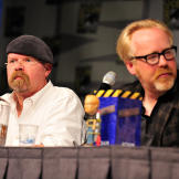 The first year Jamie Hyneman attended Comic Con (2008), he wore a base