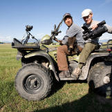 On a Montana yak ranch, a creative Doug Glover captures Mike Rowe's 15