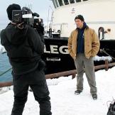 Super-producer Dave Barsky captures Doug Glover capturing Mike Rowe's