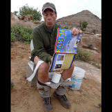 According to Mike Rowe, when scientists are sitting on the toilet in t