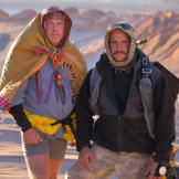 Cody and Joe - surviving together in the desert.