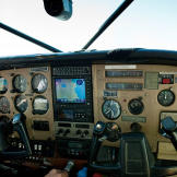 The Cessna's dual controls have saved many a pilot by providing a handy  backup system in case of instrument malfunction.