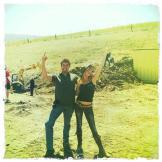 Disco at the bomb range. I love my job! (May 3, 2011)